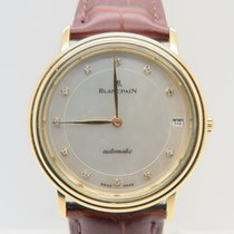 Blancpain Villeret 18k Yellow Gold Mother of Pearl Dial