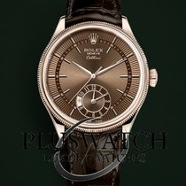 Rolex Cellini Dual Time 39mm Everose 18ct. G