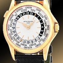 "Patek Philippe Gent's 18K Rose Gold  # 5110 ""World..."