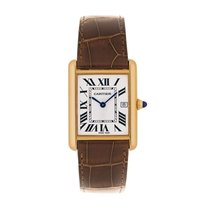 Cartier Tank Louis Quartz Mens Watch Ref W1529756