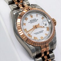 롤렉스 (Rolex) Datejust 179171 Jubilee 18k Rose Gold & Ss...