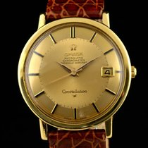 Omega Constellation 18k gold Piepan dial 1965
