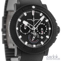 Ulysse Nardin Black Sea Chronograph 353-92-3C Rubber Coated...
