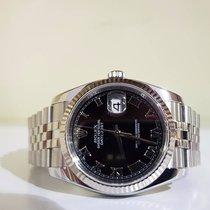 Rolex Datejust 36mm roman black - RRR - Top condition