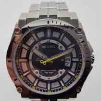 Bulova Precisionist Stainless Steel Bracelet Watch