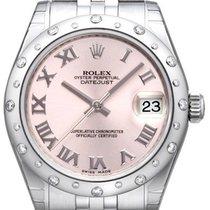 Rolex Datejust 31 Ref. 178344 Pink Römisch Jubile-Band