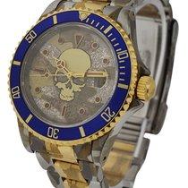 Rolex Used 16613_skull_edition_camo Skull Edition 2-Tone...