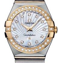 Omega Constellation Brushed 24mm 123.25.24.60.55.004