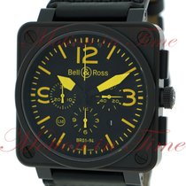"Bell & Ross BR01-94 ""Yellow"" Chronograph, Black..."
