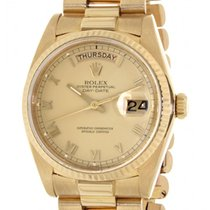 Rolex Day Date 18038 Yellow Gold, 36mm