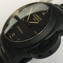 Panerai PAM 438 Tuttonero Luminor 1950 3 Days GMT Automatic...