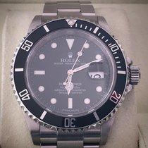 Rolex Submariner Date 16610 série V (2009)- Réhaut gravé RRR