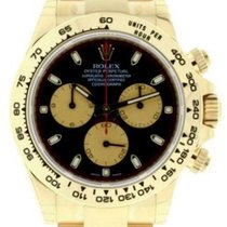 Rolex Cosmograph Daytona 116508 Black Index Champagne Tachymet...