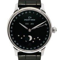 Jaquet-Droz Astrale Eclypse Onyx Complete Calendar Moon...