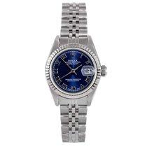 Rolex Ladies Datejust - Blue Roman Dial - Jubilee Band - Quickset