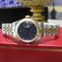 Rolex Oyster Perpetual Datejust Gold Stainless Steel Roman...