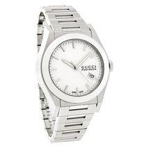 Gucci 115 Pantheon Mens White Bracelet Swiss Quartz Watch...