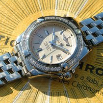 Breitling Galactic 32 Steel A71356 Diamonds With Breitling...
