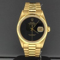 Rolex Datejust 36mm 18k Yellow Gold Case & President...