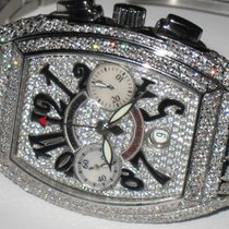 Franck Muller Conquistador Chronograph Stainless Steel...