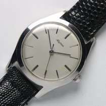 Alpina 1950's Steel Screw Back Vintage Watch w/ in house 598 mvmt