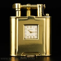 Alfred Dunhill Dunhill Rare 18k Y/G Art Deco Swing Arm Pocket...