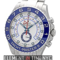 Rolex Yacht-Master II Stainless Steel 44mm Blue Bezel