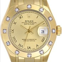 Rolex Lady Datejust Pearlmaster/Masterpiece Gold & Diamond...