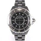 Chanel J-12 black H1625 Full set