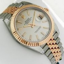 Rolex DATEJUST II 41MM STEEL GOLD IVORY DIAL