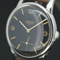 Longines Longinus Handaufzug Black Dial Cal.30L Anno  1966