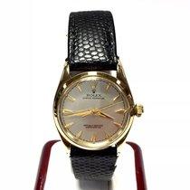 ロレックス (Rolex) Oyster Perpetual Chronometer 18k Gold Unisex...
