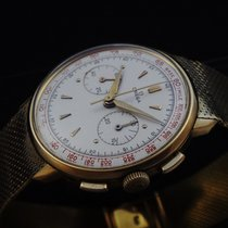 Omega Rare 18k Yellow Gold Chronograph 50's
