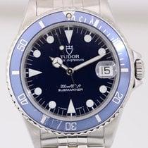 チュドール (Tudor) Submariner Medium Klassiker Tudor Faltband blue...