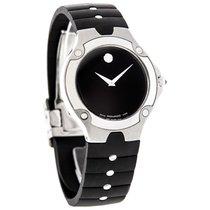 Movado S.E. Sports Edition Mens Rubber Band Swiss Quartz Watch...