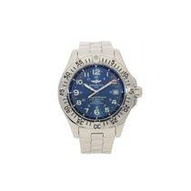 Breitling Super Ocean A17360 - Chronometer - Blue Dial - 2007