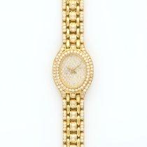 Audemars Piguet Ladies  Yellow Gold Full Diamond Bracelet Watch
