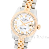 ロレックス (Rolex) Datejust Mother of Pearl Dial Pink Gold Steel...