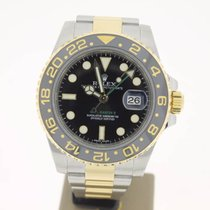 Rolex GMT-Master II Steel/Gold BlackDial (B&P2013) 40mm MINT