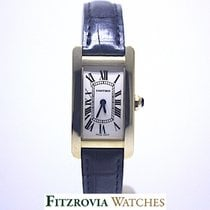 Cartier Tank Americaine Small W2601556 18KT Gold RRP £11k