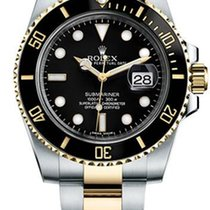 Rolex Submariner Bi-Color Black