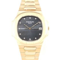 Patek Philippe Nautilus 3900 Full gold with diamond indexes