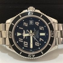 Breitling Superocean Black Dial Automatico 42mm Completo...