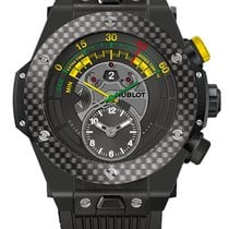Hublot Big Bang Unico Bi-Retrograde Chrono Ceramic Carbon...