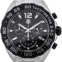 TAG Heuer Formula 1 Quartz Chronograph Stainless Steel Black Dial