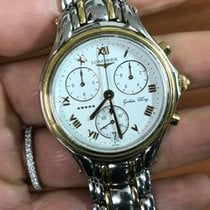 浪琴 (Longines) Chronograph 5 stars stelle Golden Wing oro gold...