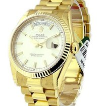 Rolex Unworn 118238_sil_stick Mens Yellow Gold Day - Date...