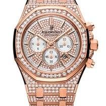 Audemars Piguet Royal Oak Offshore 18K Pink Gold Diamond Lady...