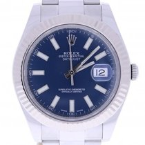 Ρολεξ (Rolex) Datejust Ii 116334 41 Millimeters Blue Dial