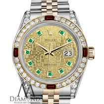 Rolex Womens Rolex Steel & Gold 31mm Datejust Two Tone...